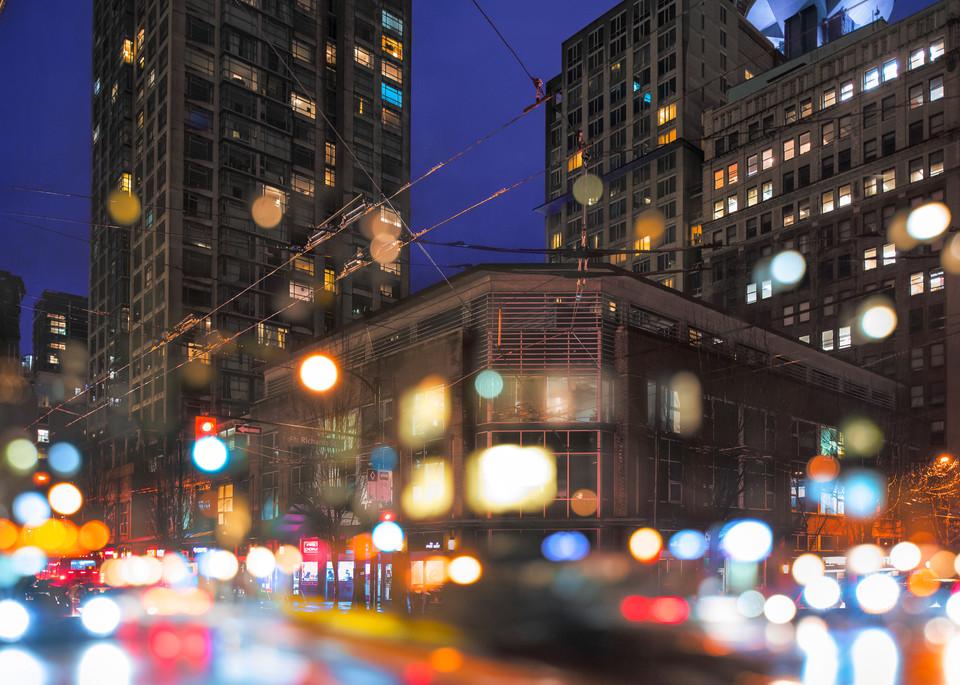 Gastown Lights Art | James Alfred Friesen
