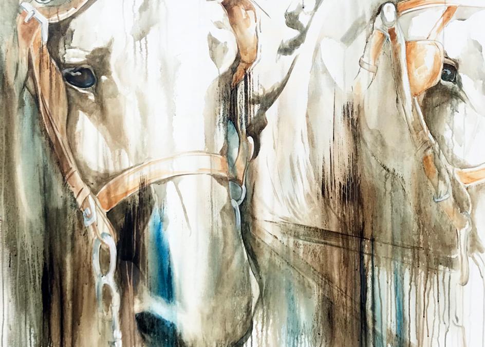 Lead Team Fine Art Print | Tammy Tappan Art