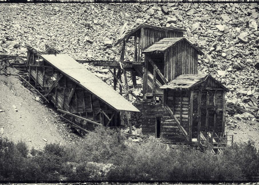Abandoned Silver Mine Near Siverton, Colorado