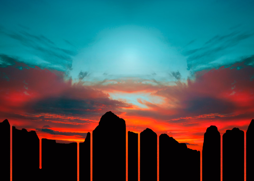 Under Our Own Piece Of Sky Art | James Alfred Friesen