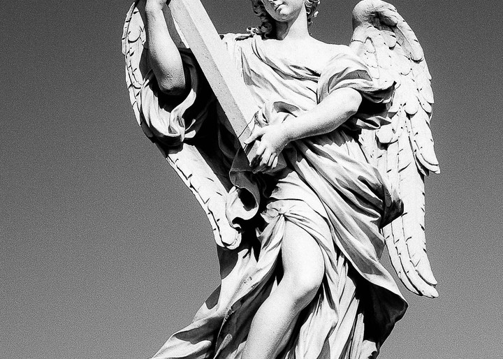 Angel Rome Photography Art | The World in Black and White
