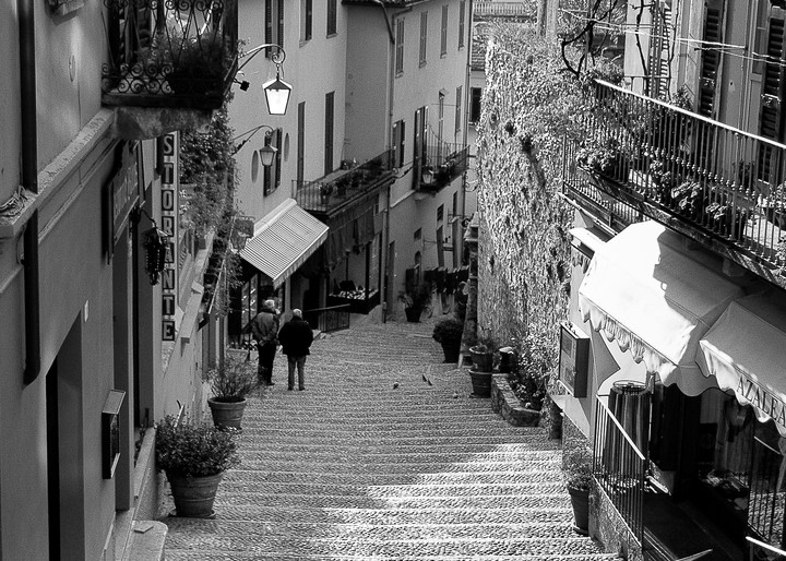 Bellagio Italia Photography Art | The World in Black and White