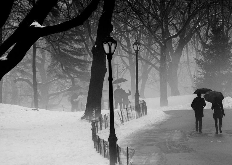 Walking Through Central Park Photography Art | Ben Asen Photography