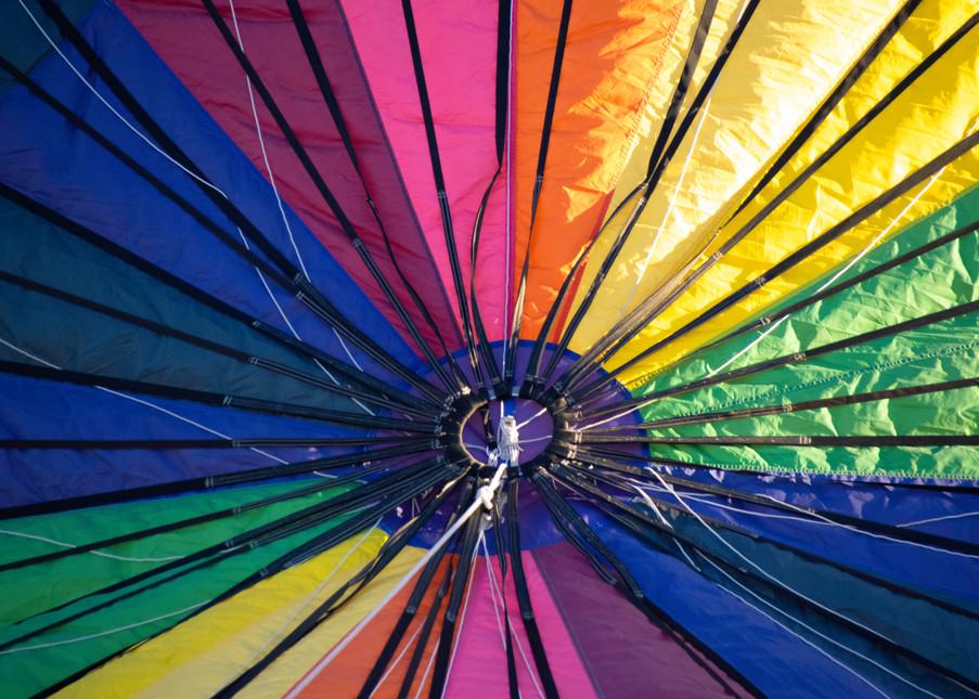 Hot Air Color Wheel Photography Art   Kathleen Messmer Photography