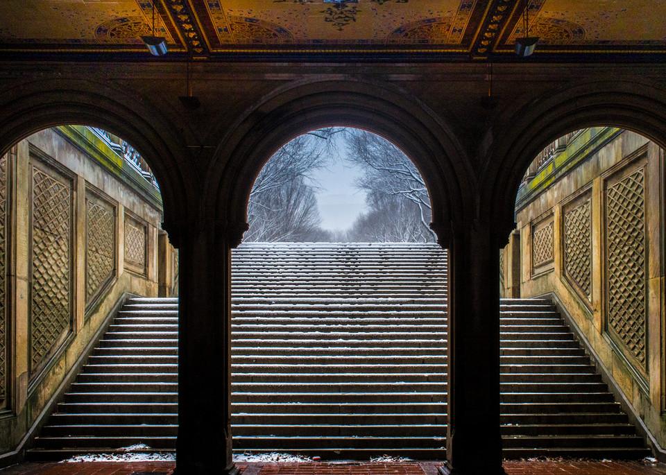 Bethesda Terrace, Central Park Photography Art | Ben Asen Photography