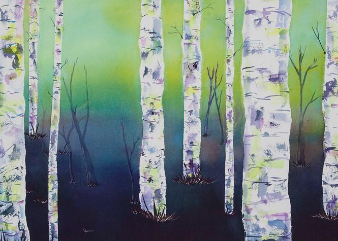 Mystical Woodlands Art   Mickey La Fave