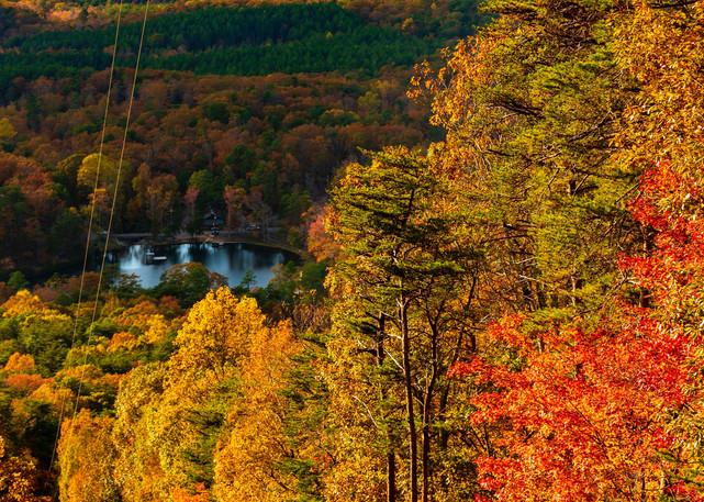 Lake Cheaha Autumn Mountains