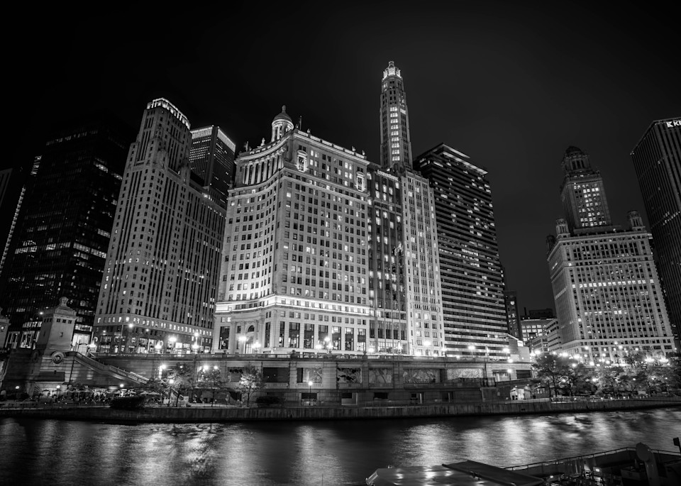 London House Chicago Black And White Photography Art   William Drew Photography