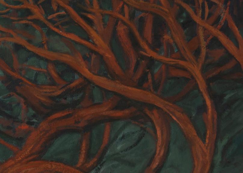 Red Tree Art | Jono Wright Art