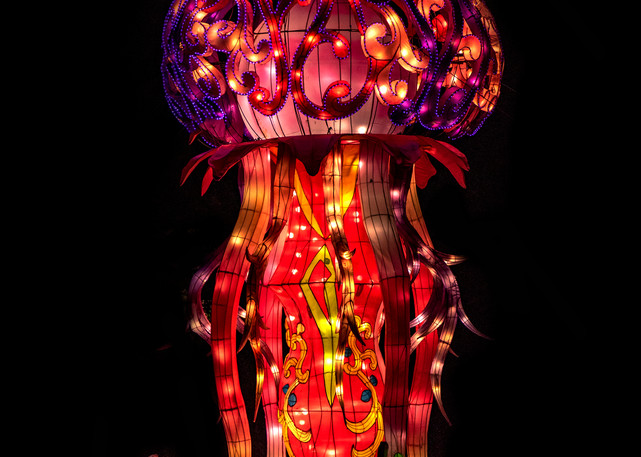 Large jellyfish sculpture