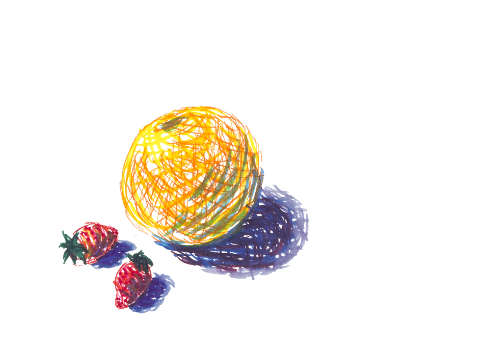Imaginary Fruit Still Life Art | Off The Edge Art