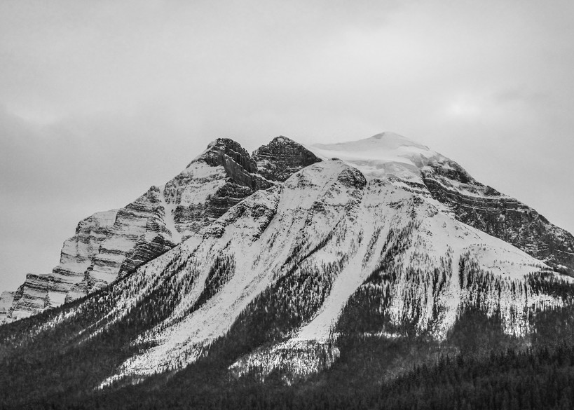 Banff Ice Mountain Photography Art | Austin Marvel