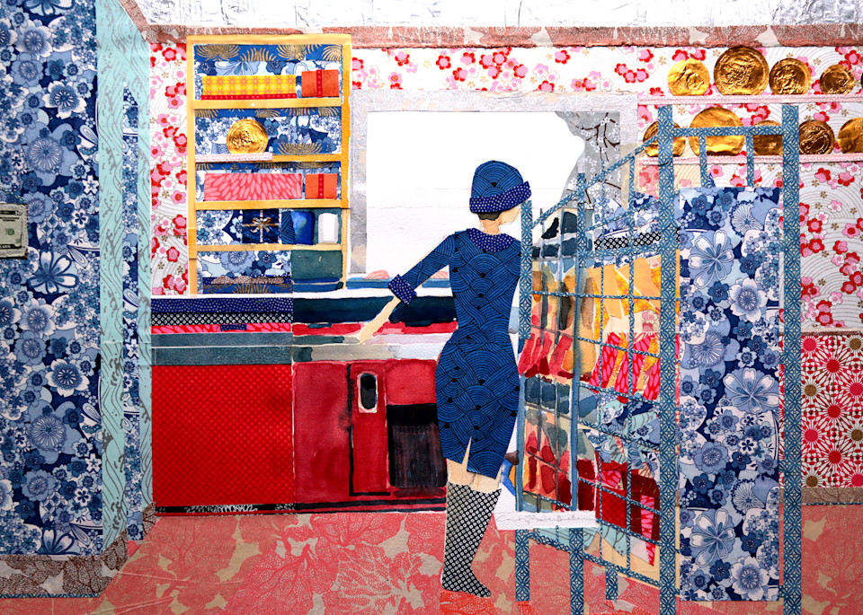 Snack Shop Art | Courtney Miller Bellairs Artist