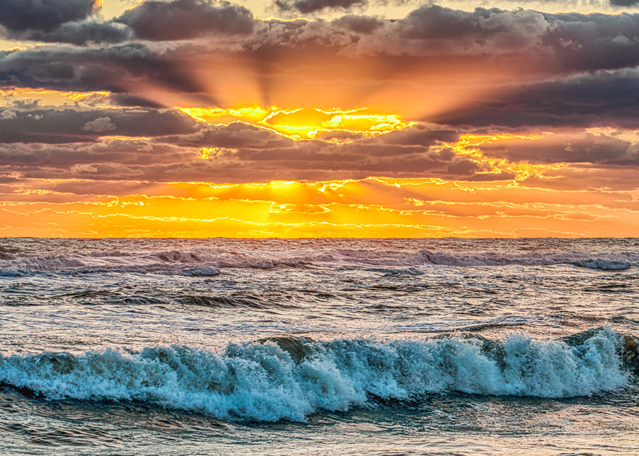 South Beach Fall God Light Art | Michael Blanchard Inspirational Photography - Crossroads Gallery