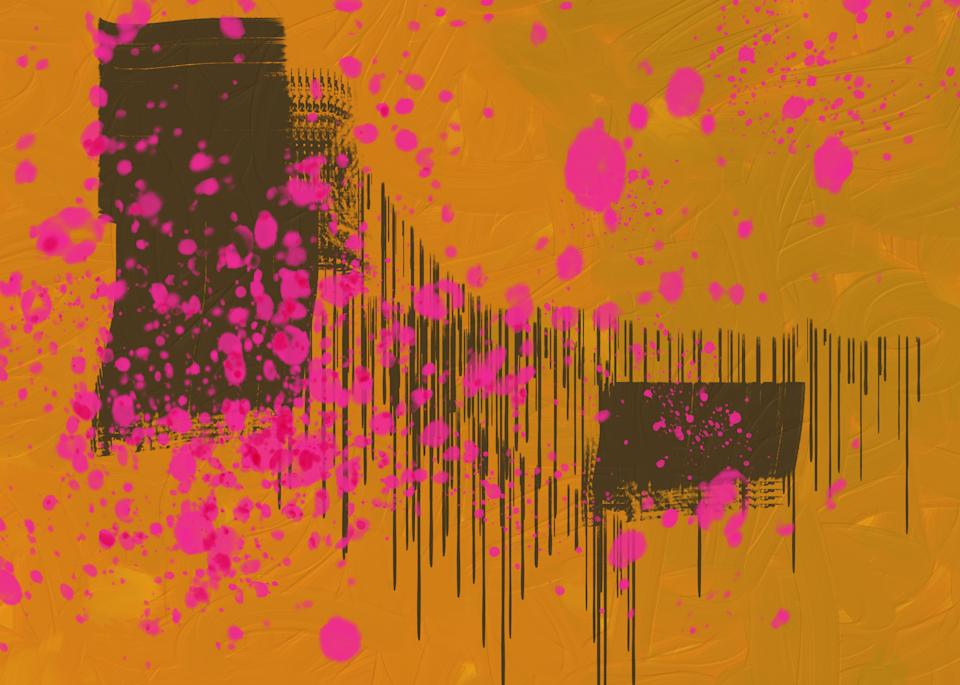 10.20 Digital Painting Orange Art   Glenn McDaniel Arts, LLC