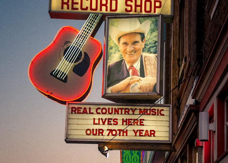 Ernest Tubb Record Shop Art | Anna Jaap Studio