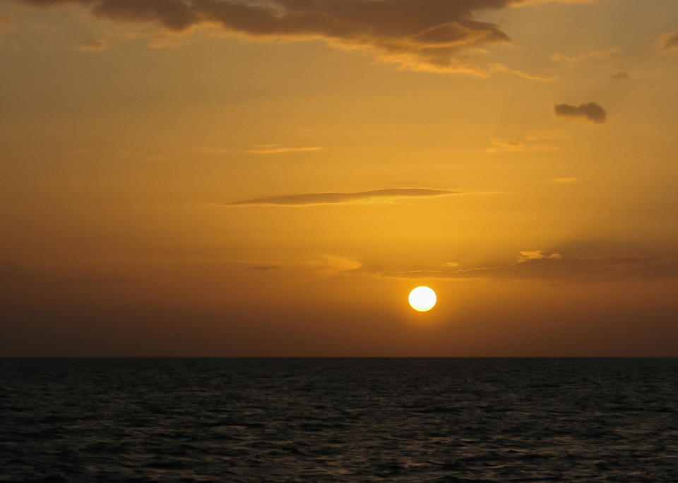 Orange Sunset  Art | Thriving Creatively Productions