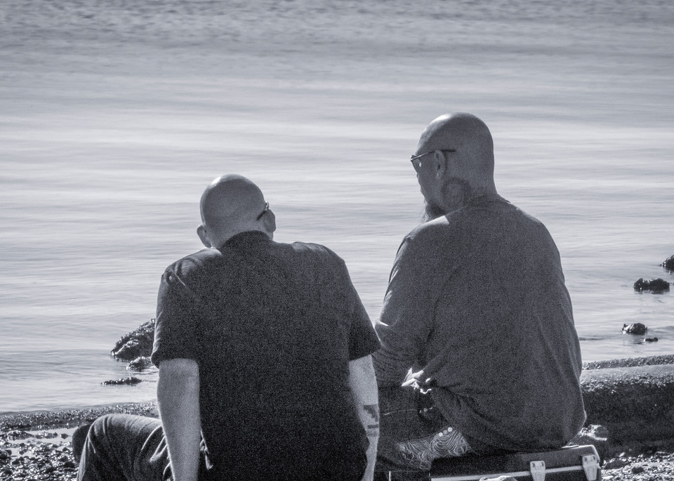 Fishing Buddies Photography Art   Ron Olcott Photography