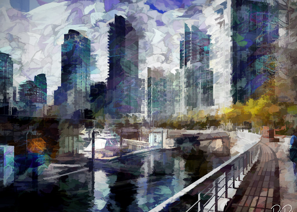 River Path Art | R.j.Ricci Art