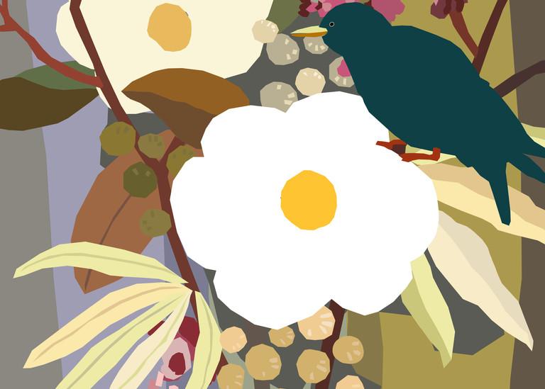 Magnolia Bouquet  Art | Artofandrewdaniel