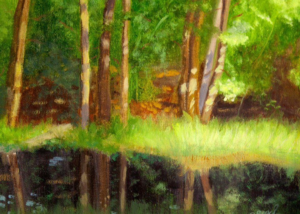By The Pond Art | Pearl White Studio
