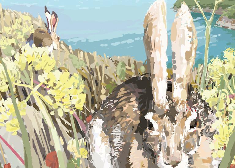 Black Tailed Jackrabbit Art | Artofandrewdaniel