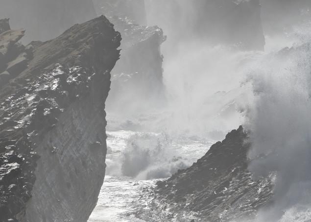 Storm Surf At Shore Acres Art | Shaun McGrath Photography