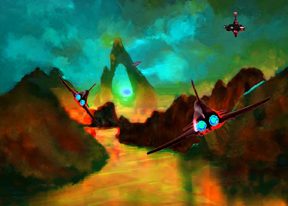 Ambush 2 Art | Don White-Art Dreamer