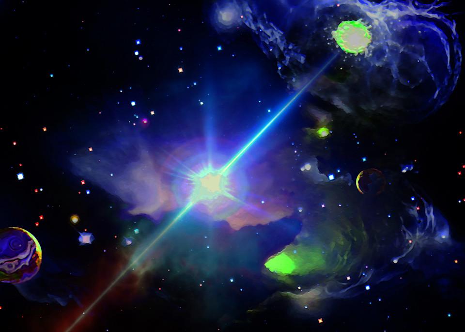 Outer Space Dream Art | Don White-Art Dreamer