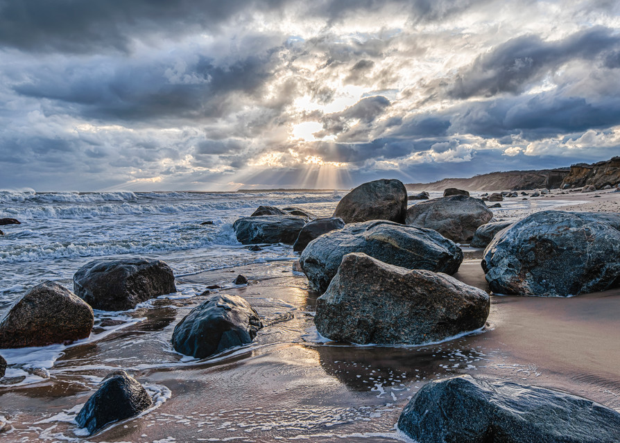 Lucy Vincent Fall Rays Of Light Art | Michael Blanchard Inspirational Photography - Crossroads Gallery