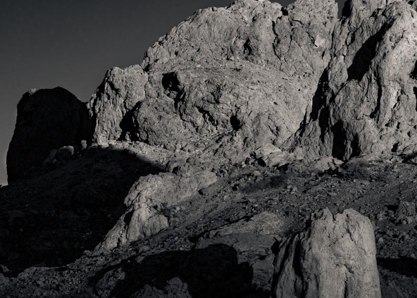 Moonrise Trona Pinnacles Photography Art | Dan Katz, Inc.