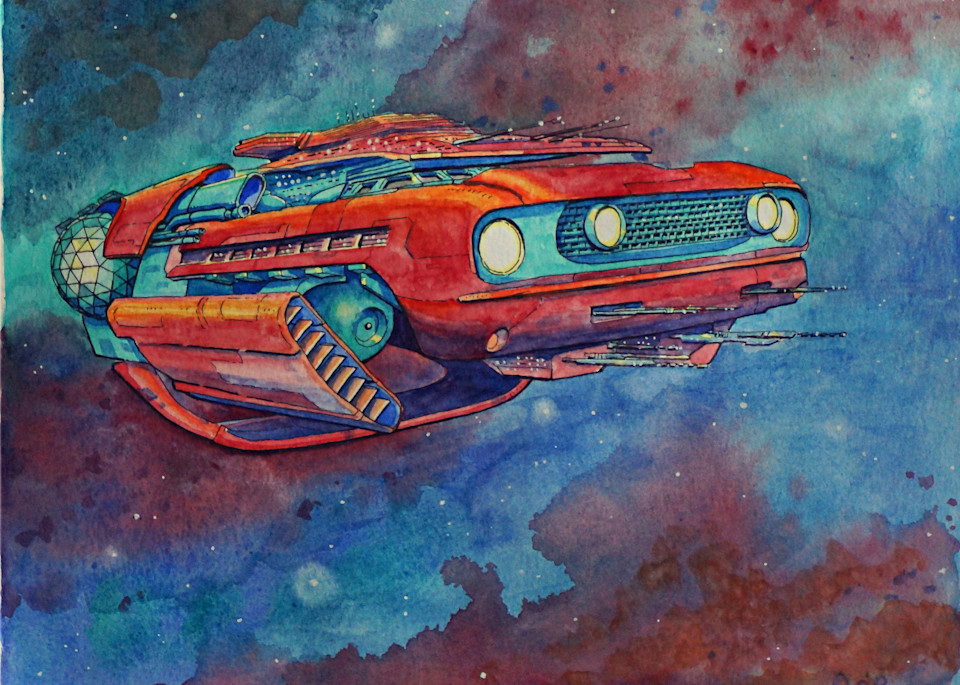 """""""Intergalactic Muscle"""". Mustang"""
