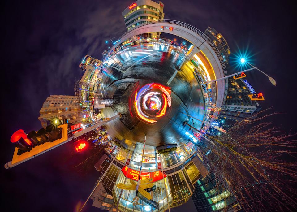 Richmond At Night Art | James Alfred Friesen