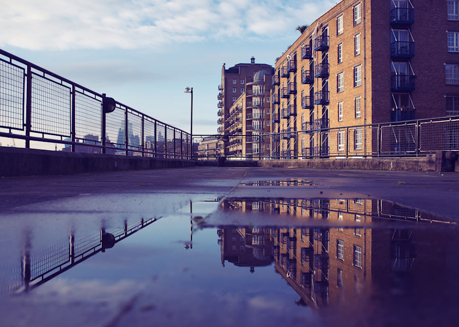 The Pier In Limehouse #2 Art | Martin Geddes Photography