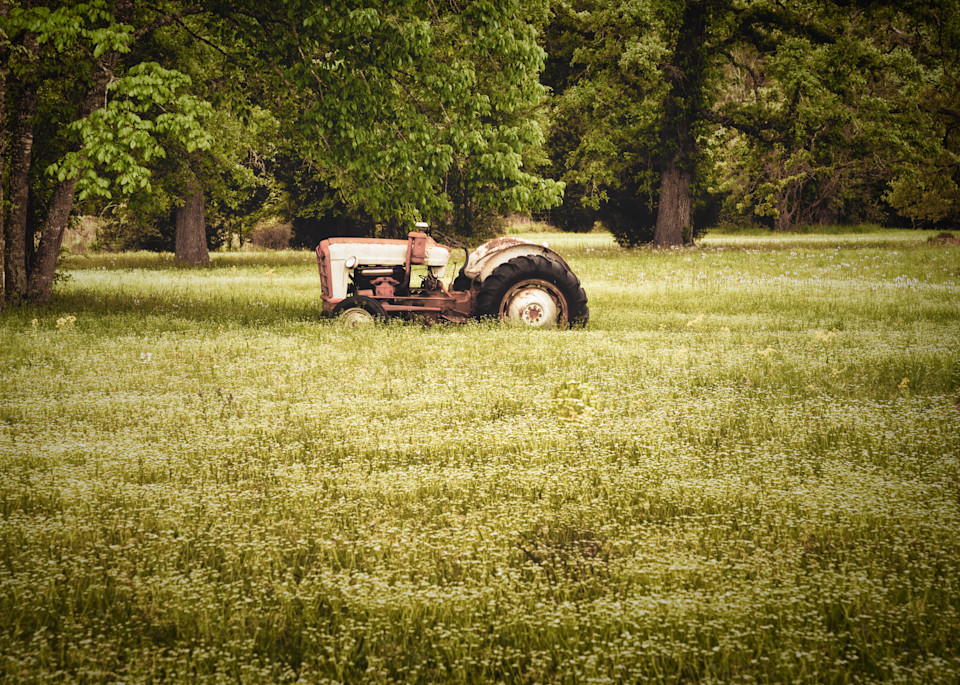 Antique Tractor Photography Art | Grace Fine Art Photography by Beth Sheridan