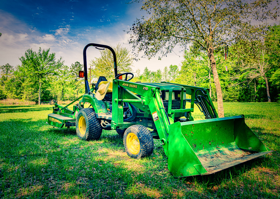 John Deere At Sunset Photography Art | Grace Fine Art Photography by Beth Sheridan