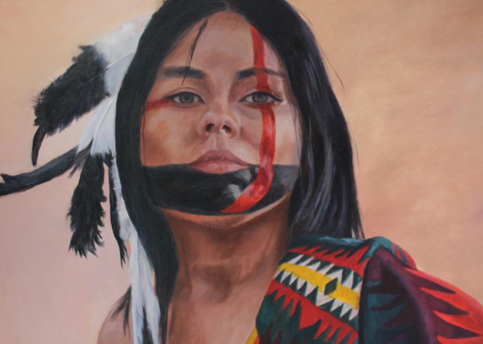 She's A Warrior Art | Aubrey Kyle Creates
