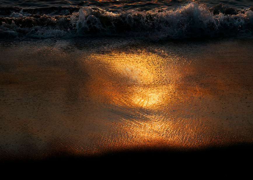 Sunrise Beach Photography Art | Ed Sancious - Stillness In Change