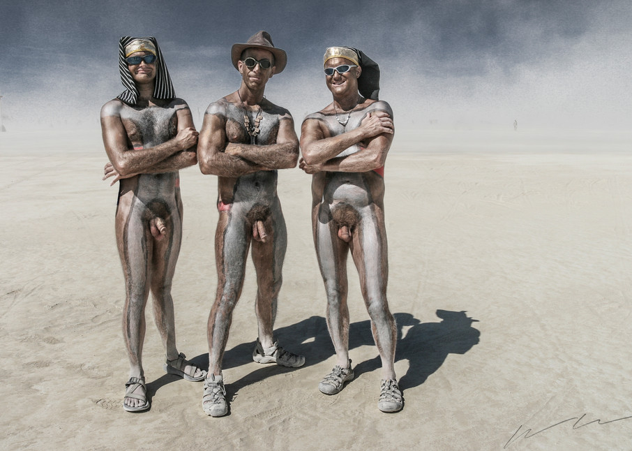 The Three Pharaohs Photography Art | Harry John Kerker Photo Artist