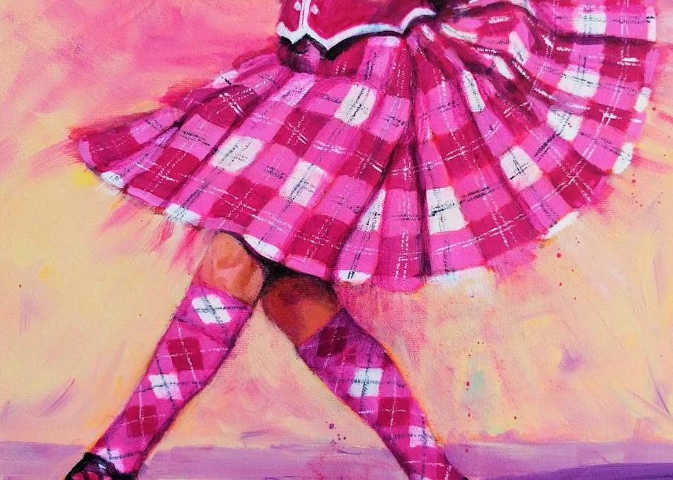 pink tartan kilt