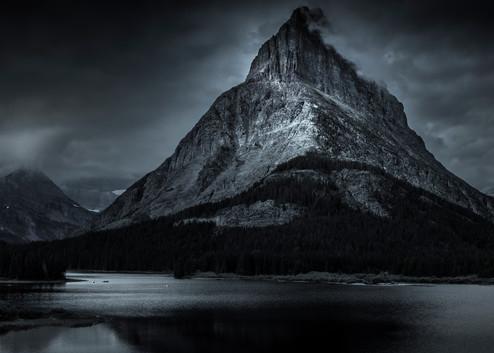 Storm Over Lake Mc Donald Photography Art | Harry John Kerker Photo Artist
