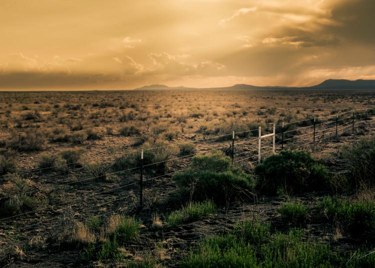 Fence Line Photography Art | Harry John Kerker Photo Artist