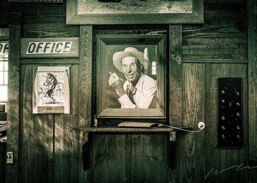 Portrait Of A Cowboy Photography Art   Harry John Kerker Photo Artist