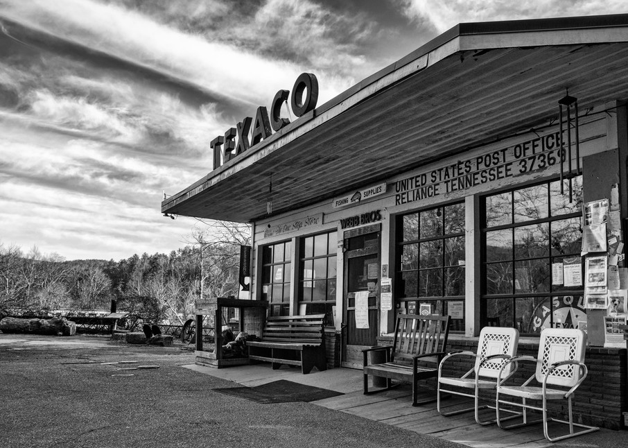 Reliance One Stop Store and Post Office - Tennessee fine-art photography prints