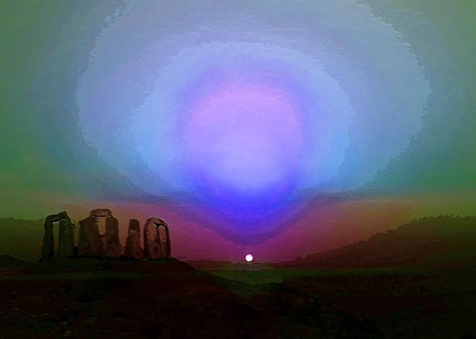 Martian Sunset Art | Don White-Art Dreamer