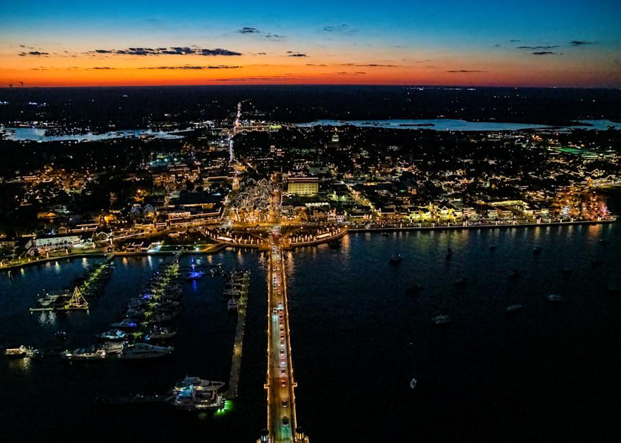 Night Of Lights Skies Photography Art | kramkranphoto
