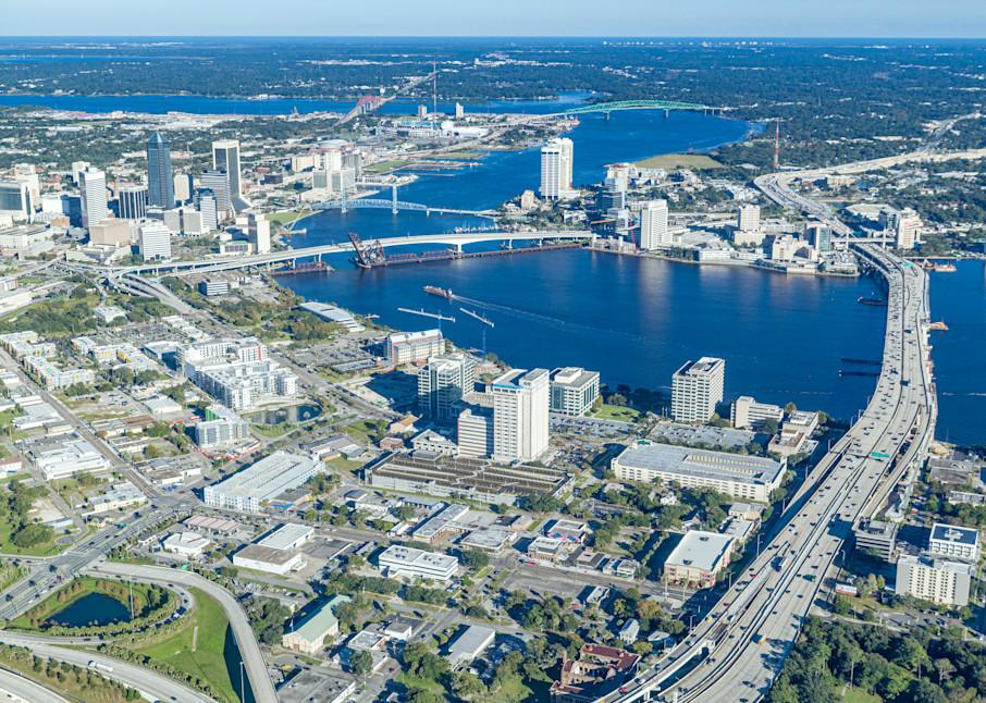 Jacksonville Aerial Image Photography Art | kramkranphoto