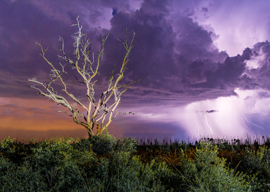 Lightning Strike Photography Art | kramkranphoto