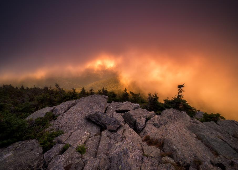Killington Fire Two Photography Art | C.H.Diegel Photography