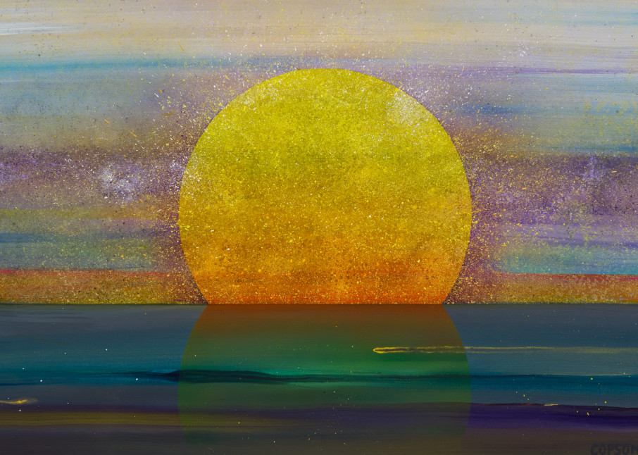 Return of the Light - Print reproduction of art by David Copson
